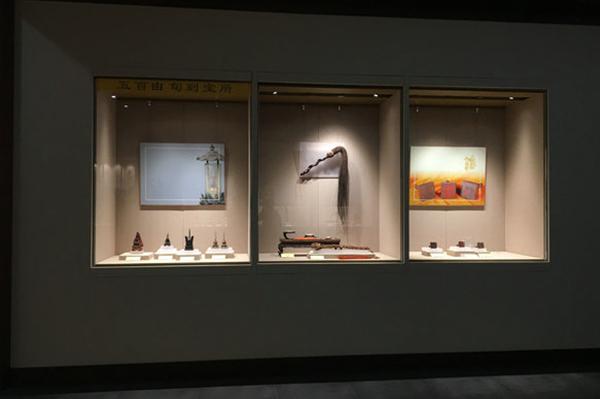 博物馆壁龛展柜