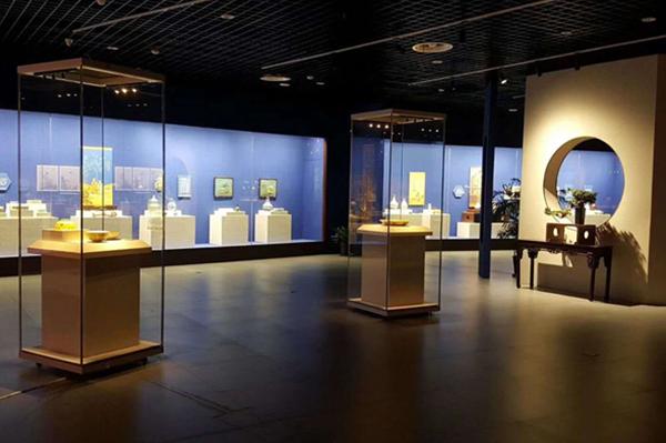 博物馆独立展示柜