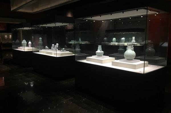 博物馆独立展览展示柜