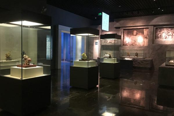 博物馆独立展览柜