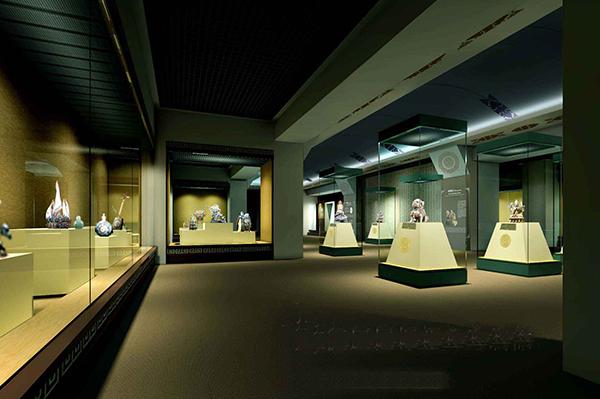 博物馆珍藏品展柜