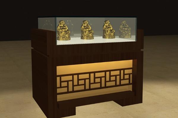 佛像博物馆展柜