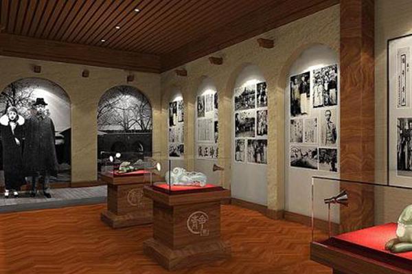 历史纪念博物馆展柜